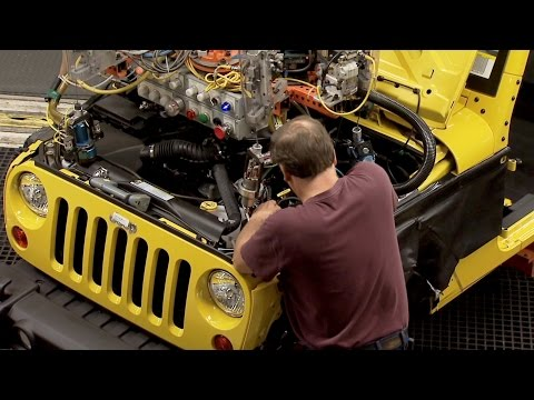 Jeep Wrangler Manufacturing at the Toledo North Assembly Plant, Ohio