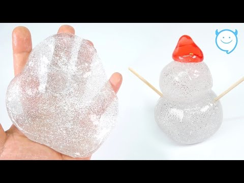 how to make fake snot without borax