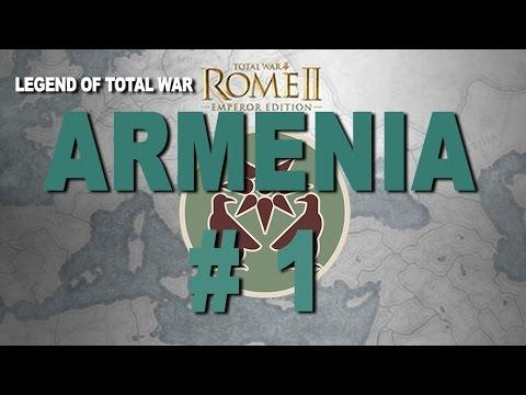 Imperator Augustus Campaign: Rome II - Armenia Part 1