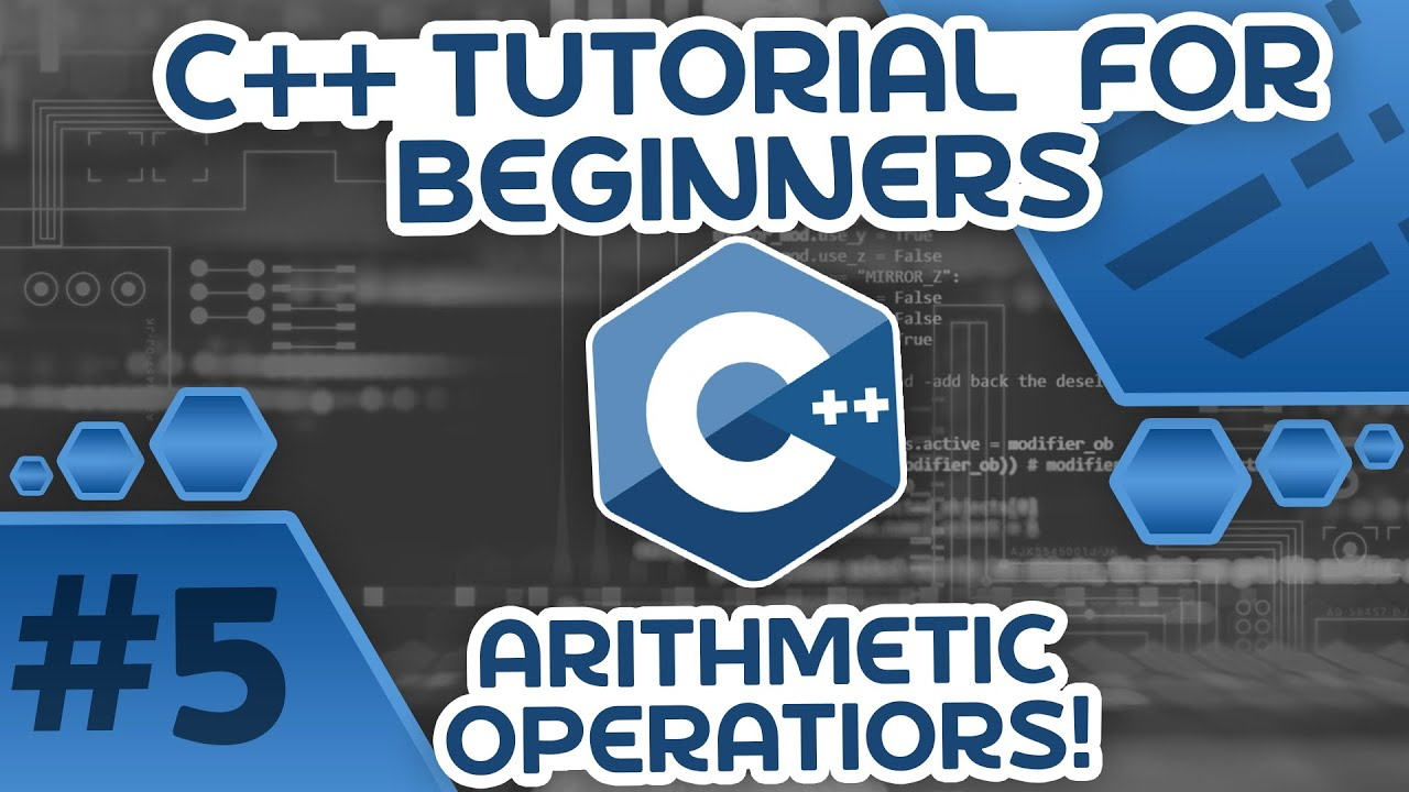 Learn C++ With Me #5 - Arithmetic Operators