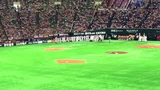 試合終了後に井口資仁が挨拶!!! 井口資仁 検索動画 22