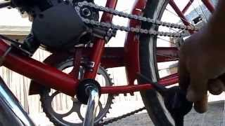 Chain Failure and How I fixed it on my motorized bicycle