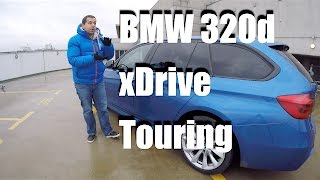BMW F31 320d xDrive Touring FL (ENG) - Test Drive and Review