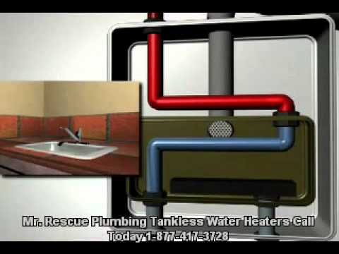 Mr. Rescue plumbing and Drain Cleaning Tankless Water Heaters.mov