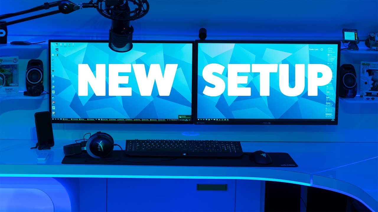 New VR Gaming Setup & Channel Update