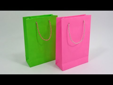 Paper Bag Making At Home    How To Make Shopping Bag With Paper