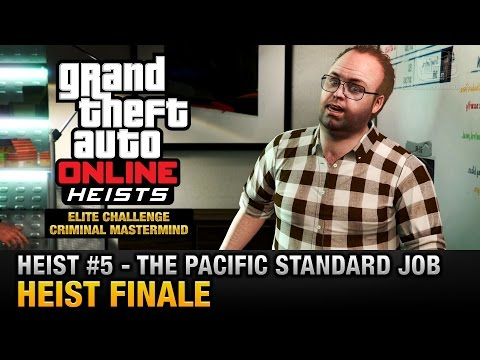 GTA Online Heist #5 - The Pacific Standard Job - Finale (Elite Challenge & Criminal Mastermind)