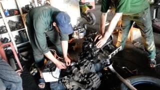 Demarrage le moteur de voiture / jetta 1991