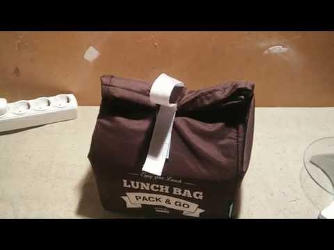 Обзор Lunch Bag, термо-сумка для бутербродов и еды