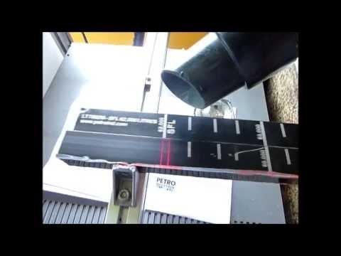 20 Watts Fiber Laser Marking onto Petro Level Gauge