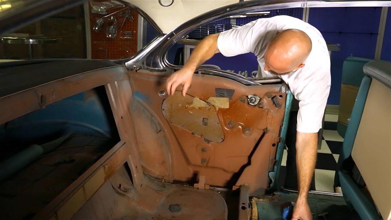 How To Remove Rear Quarter Panel Glass Hardtop Convertible Wiring Diagram For 1948 49 Chevrolet Passenger Car Danchuk Usa Youtube
