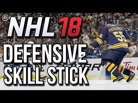 NHL 18: DEFENSIVE SKILL STICK TUTORIAL