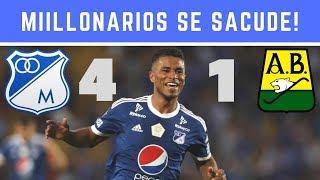Millonarios Se Sacude Y Con Triplete De Carrillo Vence A Atletico Bucaramanga [Noticias Millonarios]