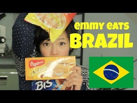 Emmy Eats Brazil - tasting Brazilian snacks & sweets