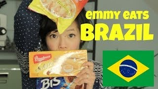 Emmy Eats Brazil - tasting Brazilian snacks & sweets