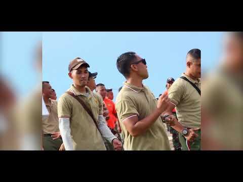 Seru !! Goyang Bareng Tentara Ganteng - TNI