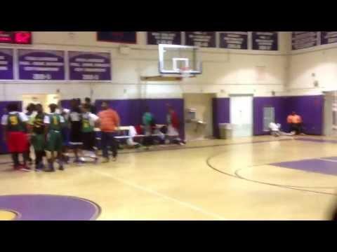 Milbank VS LPAC David Lee Hamilton Foundation Stop The Violence Basketball Tournament. Ankles Broke!