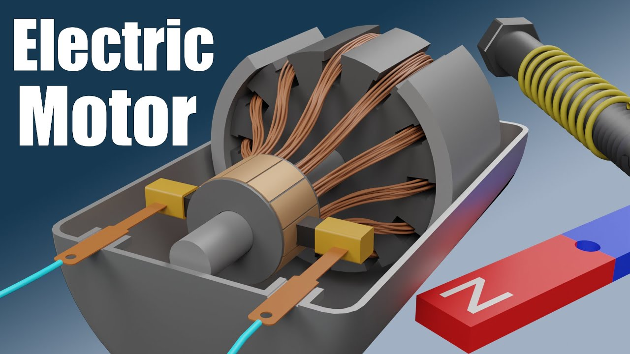 >> ▶ 10′ Em22U – Wie funktioniert ein Gleichstrom(DC)-Elektromotor? (Jared Owen)