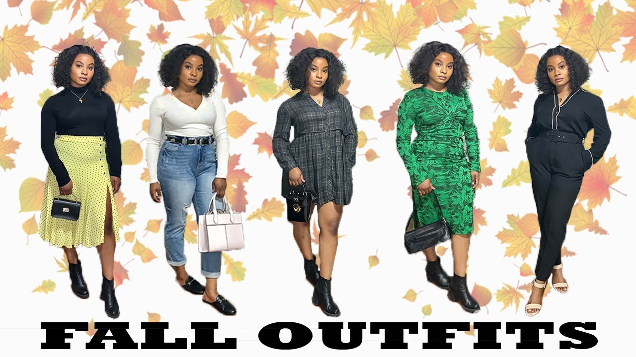 [VIDEO] - FALL OUTFITS | What I wear to work in a week | Miss Ola 2