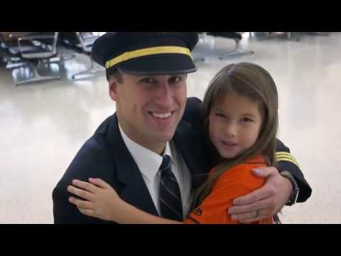 United - Hailey Dawson's special flight home from Houston