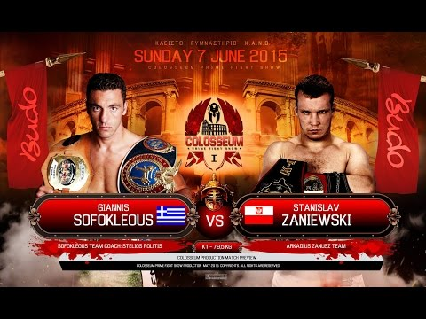 COLOSSEUM Fight: Giannis Sofokleous vs Stanislaw Zaniewski