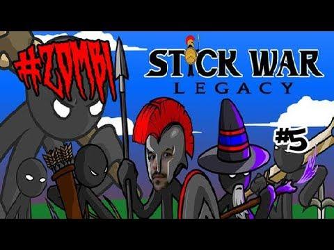 Zombi Saldırısında Hazin Son - Stick War : Legacy # 5