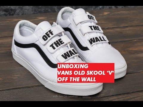 vans off the wall velcro