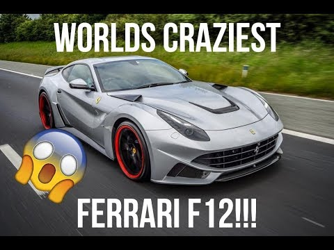 Driving around Leeds in the worlds loudest Ferrari!