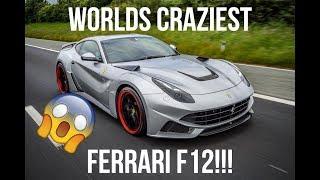 Driving Around Leeds In The Worlds Loudest Ferrari!