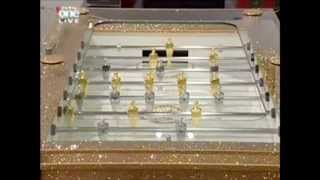 Steininger's Soccer Table Crystallized With Swarovski Elements