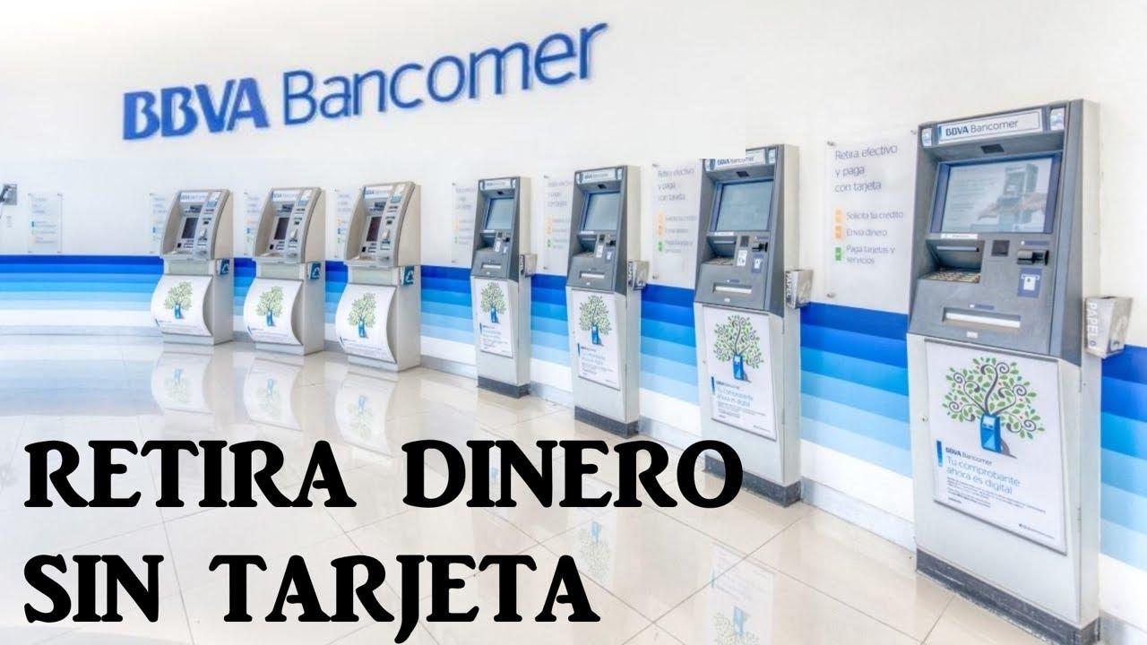 Retira Dinero Del Cajero Sin Tarjeta Bbva Bancomer 2019