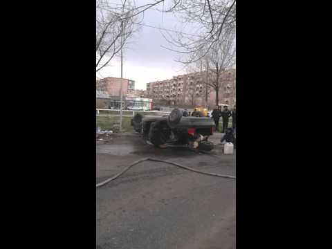 Авария в Армении