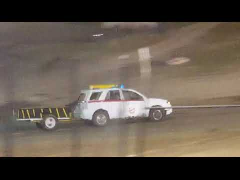 fulton speedway trailer durby. - dirt track racing video image