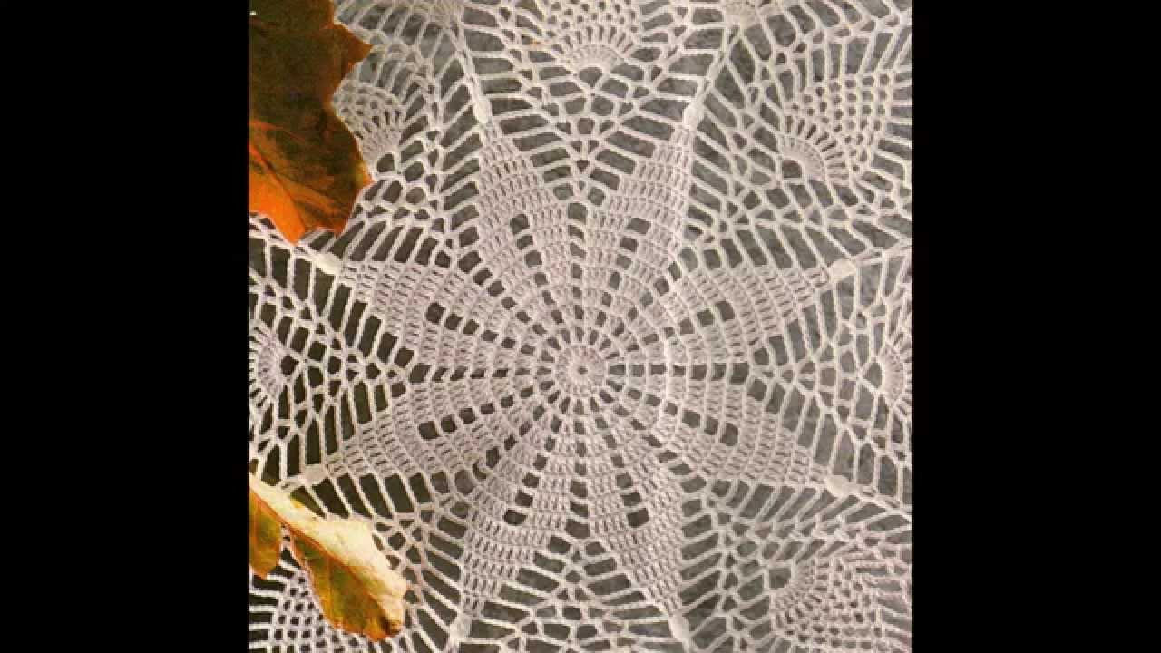 Como Tejer Carpeta de Centro Clsico crochet  YouTube