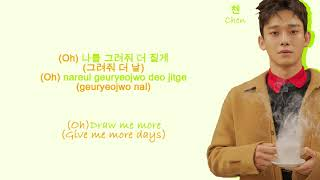 EXO Fall (Color Coded Hangul/Rom/Eng Lyrics)