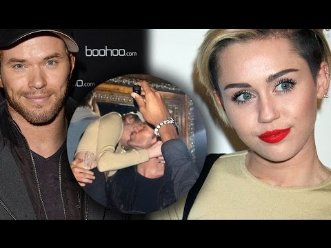 Miley Cyrus & Kellan Lutz Besándose en Beacher's Madhouse! Videos De Viajes