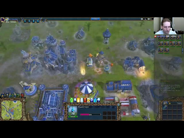 Majesty 2 - Single Missions (Live Stream) [ 03 - Treacherous Tropics]