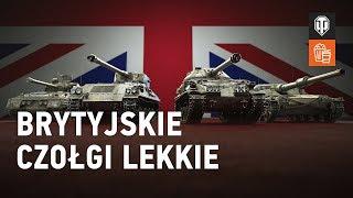 Brytyjskie czołgi lekkie. Przegląd [World of Tanks Polska]