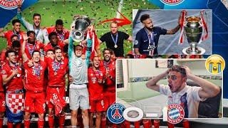 PSG 0-1 BAYERN *NEYMAR NO SE MERECE ESTO*? FINAL CHAMPIONS LEAGUE 2020