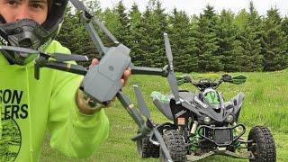 DRONE MOTOCROSS TEST