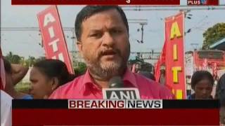 Trade Union Strike starts in many states of India