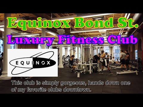 🏋️Equinox Bond Street Luxury Fitness Club Gym review Great workout Experience in Manhattan New York