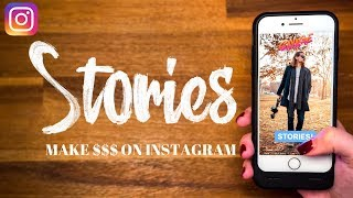 Make $$$ with Instagram Stories