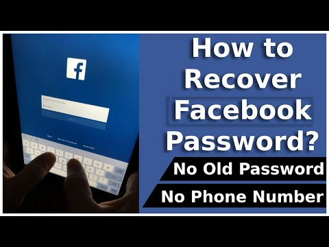 How To Recover Facebook Account Password Without Phone Number | Reset Facebook Password
