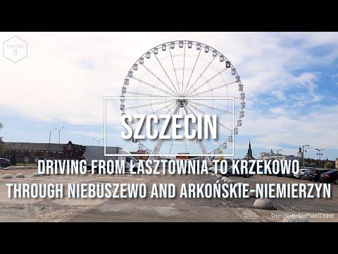 Driving from Łasztownia to Krzekowo, Szczecin, Poland - 9th May 2021