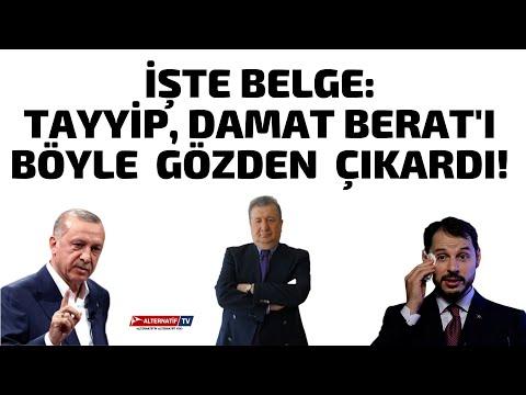 İŞTE BELGE:TAYYİP, DAMAT BERAT'I BÖYLE  GÖZDEN  ÇIKARDI! (Sabahattin Önkibar-ALTERNATİF) #haber