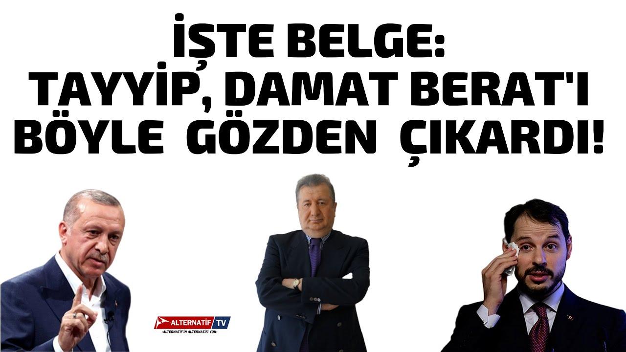 İŞTE BELGE:TAYYİP, DAMAT BERAT'I BÖYLE  GÖZDEN  ÇIKARDI! (Sabahattin Önkibar-ALTERNATİF) #haber image