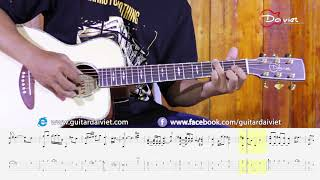 Đừng ai nhắc về anh ấy - (Mr. Siro, Trà My idol) Fingerstyle Acoustic Guitar cover [with tab]