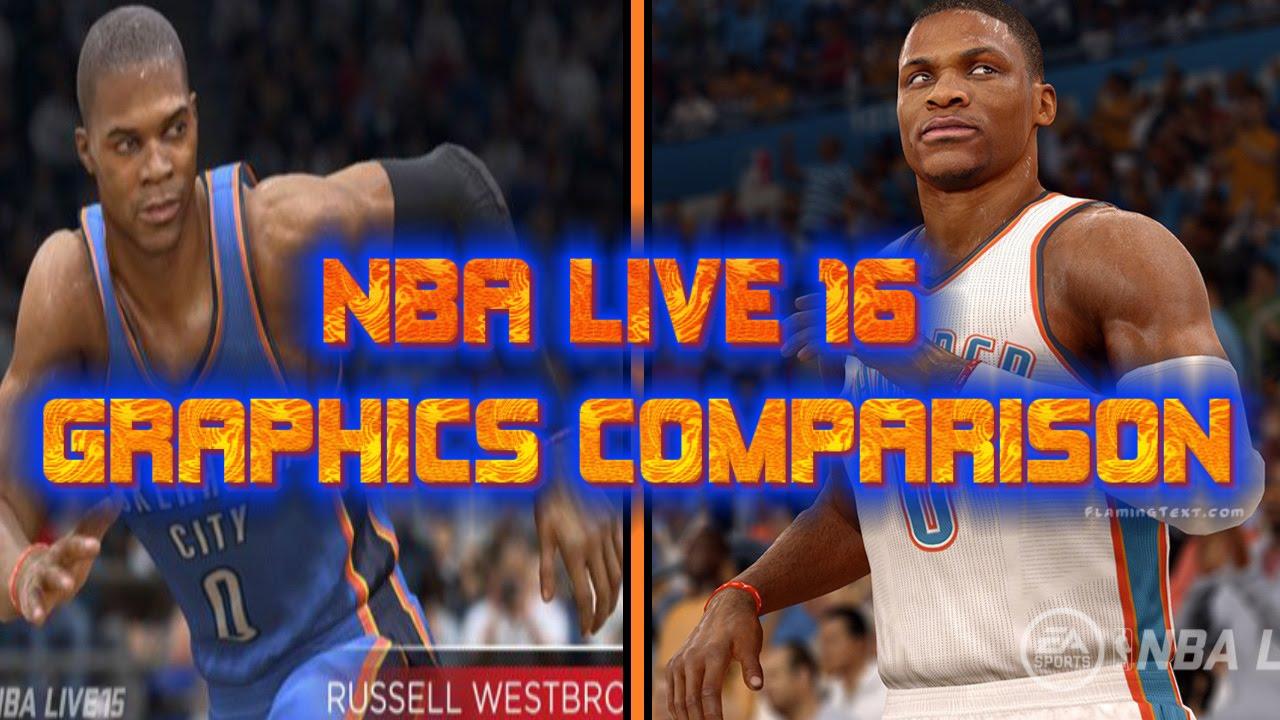 Nba Live 16 Graphics