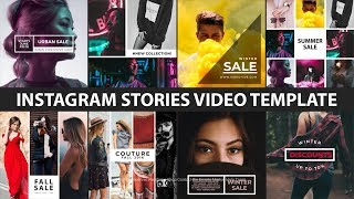 Video de after effects template instagram stories bundle | MusicaPlay